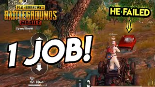YOU HAD ONE JOB!!! PUBG Mobile (He Failed)