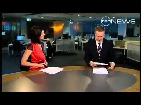 Funny News Anchor Insult! Female owns Male!