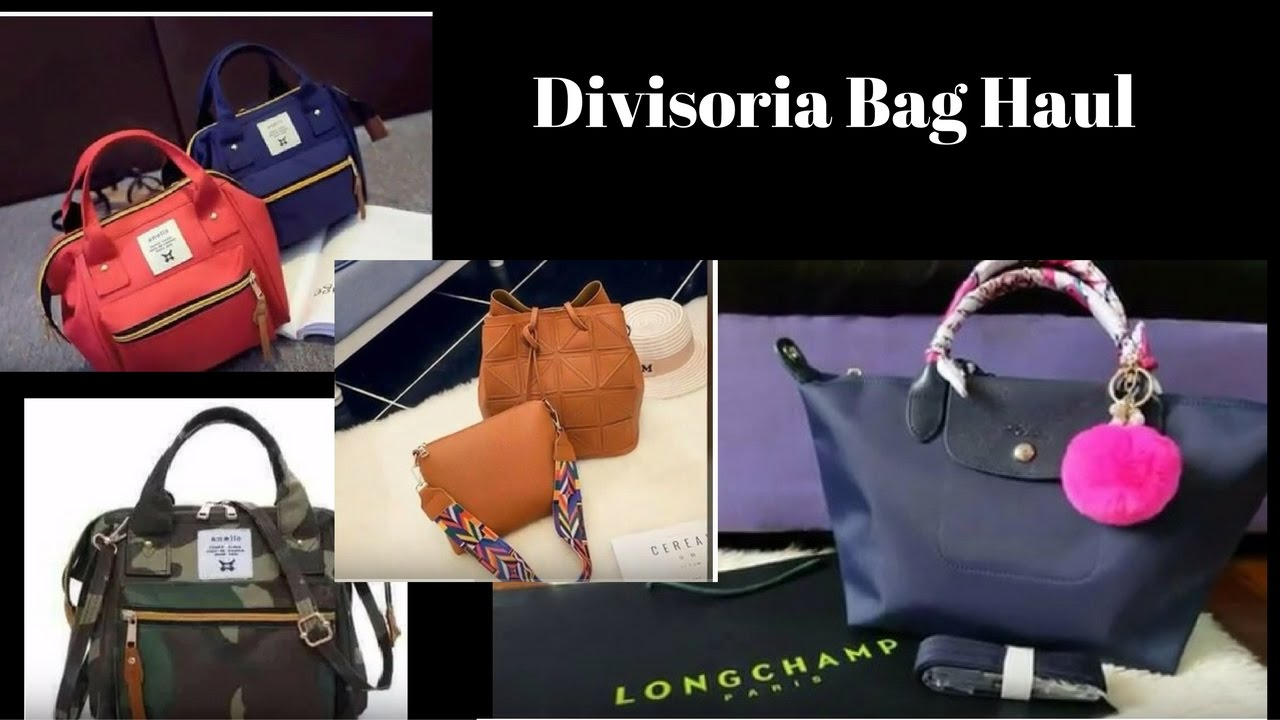 dfcf840afdab Divisoria Haul Bag Haul - YouTube
