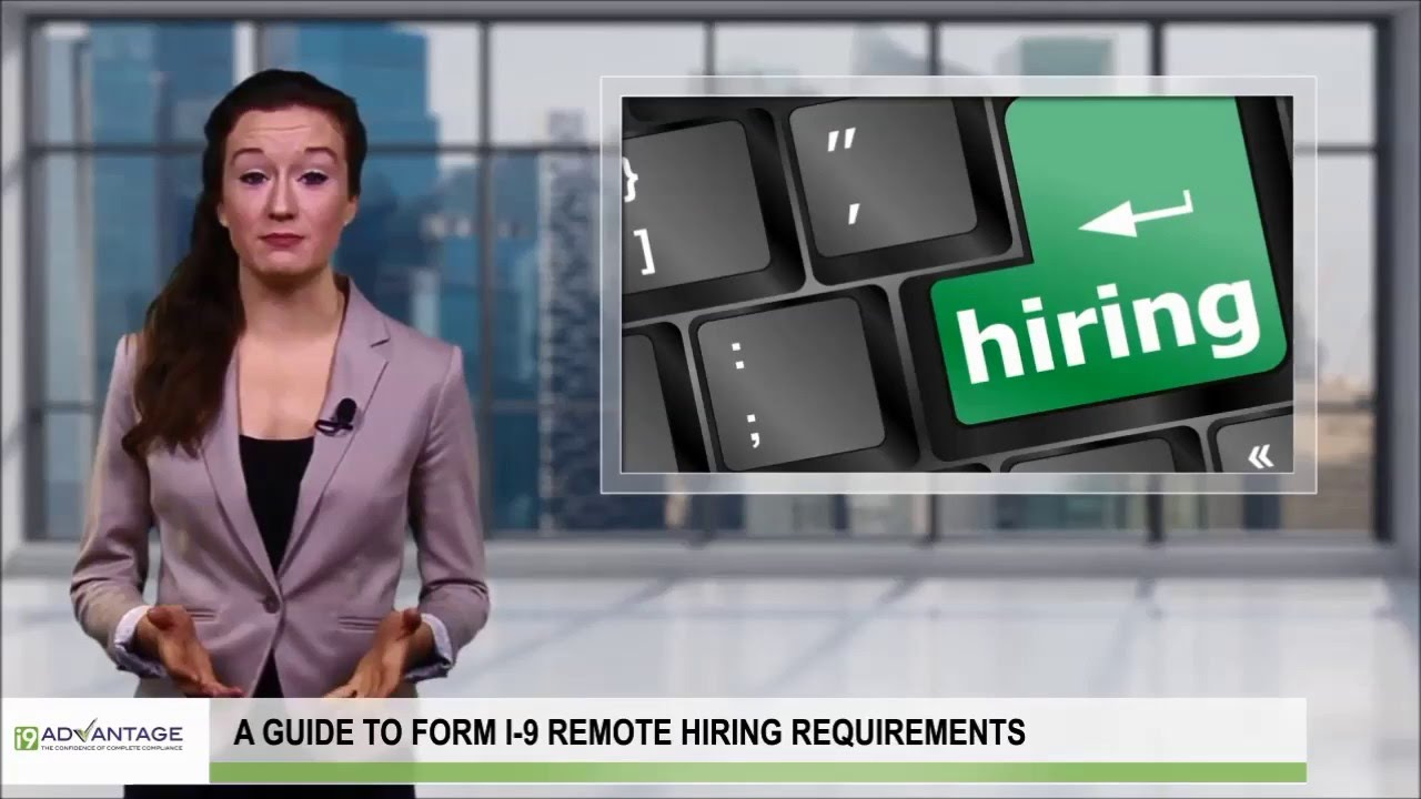 Form I 9 Remote Hiring   How To Complete Section 2