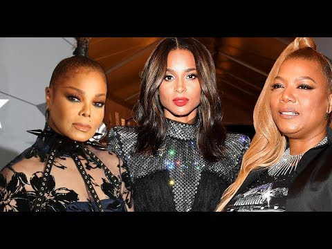 2018 Black Girls Rock Red Carpet Looks - Janet Jackson, Queen Latifah, Mary J. & More [PICS]