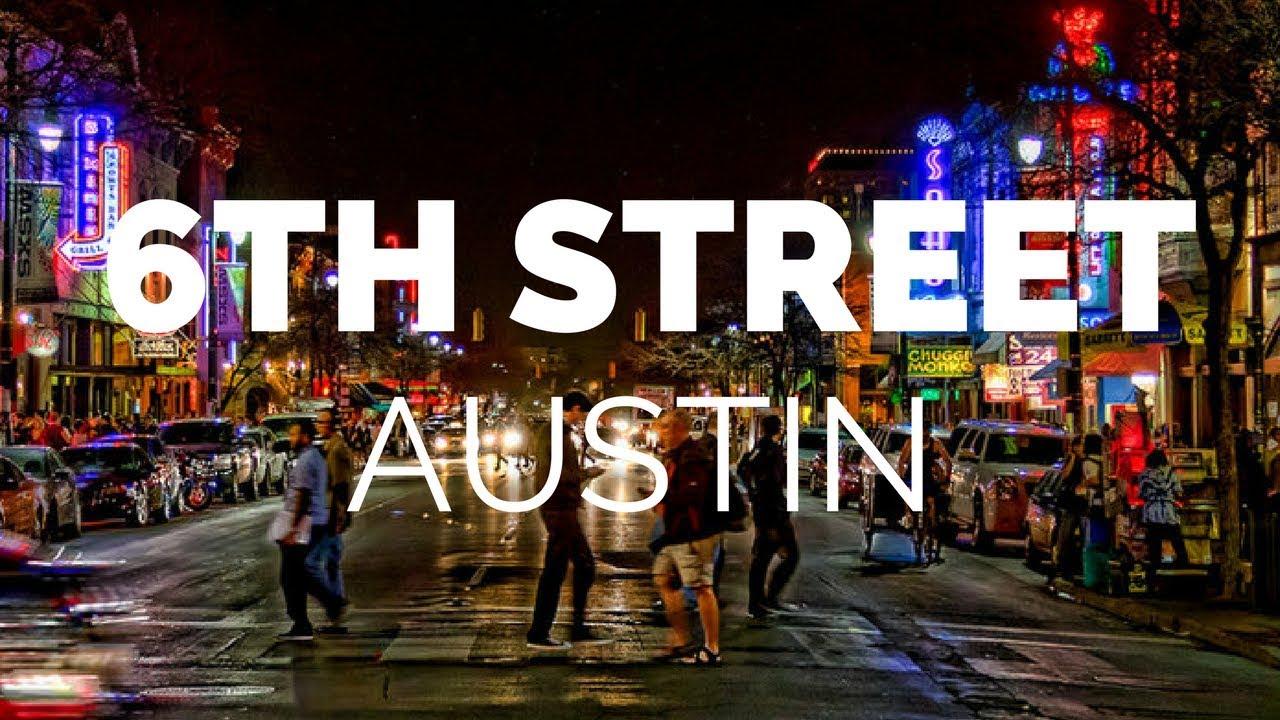 Hasil gambar untuk (Sixth Street), Austin, TX
