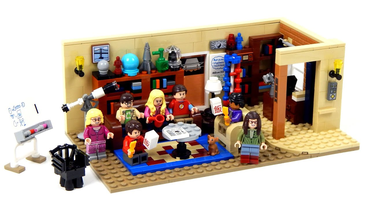 Lego Ideas The Big Bang Theory Speed Build