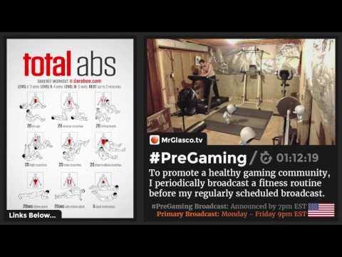 #PreGaming: DAREBEE #TotalAbs Workout 💪