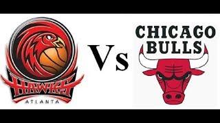 NBA 1993 EC 1R G3 Bulls vs.Hawks