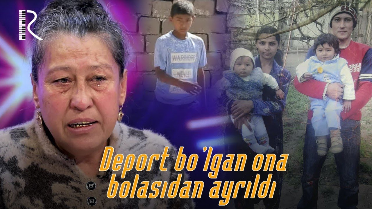 Xayrli oqshom - Deport bo'lgan ona bolasidan ayrildi 1-qism