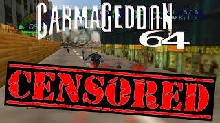 Carmageddon 64 CENSORED - Pedestrians Changed To Dinosaurs + (Documentary Purposes)