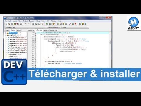 DEV C  Comment Télécharger et installer ?  Msoft  Darija