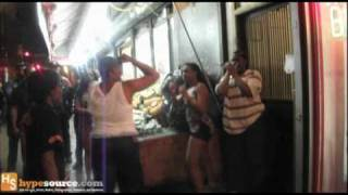Fight in crown heights brooklyn  after a gay party