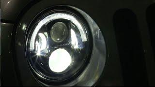 jw speaker 8700 evolution j series led headlight for jeep wrangler jk review