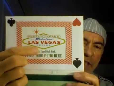 Las Vegas Interactive/Talking Postcard!