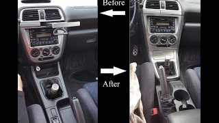 How To Swap 02-04 WRX Center Console For 05-07 WRX Center Console