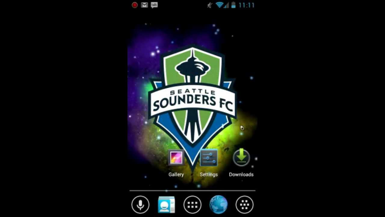 Seattle Sounders Live Wallpaper Youtube
