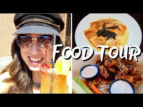 HUNTINGTON BEACH FUN FOOD TOUR 🍷🍺🍨🌮🍕