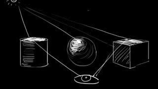 Система обучения Фотошоп. Бонус 3 - Теория светотени