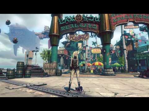 PS4®『GRAVITY DAZE 2』プレイ映像 街で遊んでみた