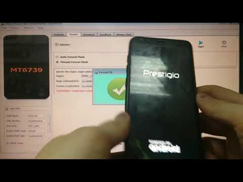 Prestigio Muze E5 LTE PSP 5545 FRP Разблокировка Google аккаунта Android 8
