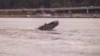 Лодка надувная Aqua-Star K-350 камуфляж - лучшая лодка для рыбалки или охоты.