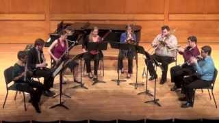 """Octet for Wind Instruments"" Stravinsky - at Stony Brook University"