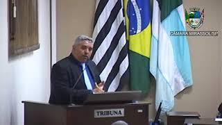 14ª Sessão Ordinária - Vereador presidente Marcão Alves