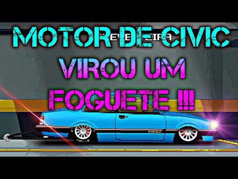 SETUP DO CHEVETTE MOTOR DE CIVIC - ESTILO BR - TUNADOS BR