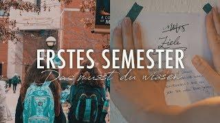TIPPS FÜRS ERSTE SEMESTER - Neu an Uni, Hochschule & Co. | SNUKIEFUL