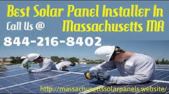 Best Solar Panel Installation Company In Massachusetts - Solar Panel Installation For Homes MA