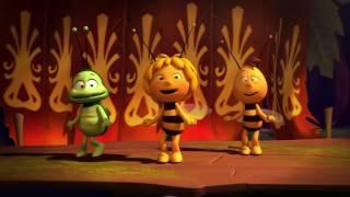 Пчёлка Майя. Песенка и танец Майи. Мультики для детей.