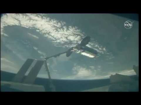Cygnus Spacecraft Captured By Space Station