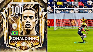 FIFA MOBILE 19 ! HOW RONALDINHO ICON TAKES PENALTIES,FREEKICKS AND GOALS! icons packs and gameplay