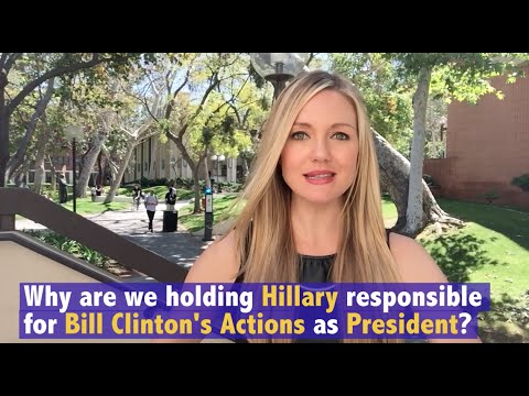Sidebar with Stephanie: Hillary Clinton is Not her Husband