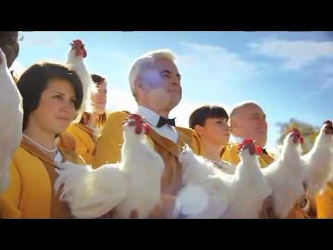 FosterFarms - crazy singing chickens