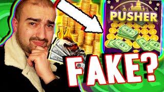 Pusher Mania Is SO FAKE! - Earn Money Cash & Rewards Paypal App Casino 2020 Review Youtube Video screenshot 4