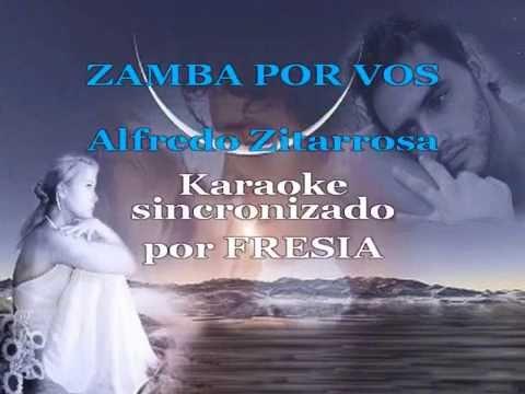 Zamba por vos    KARAOKE