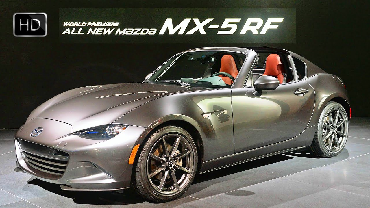 2017 mazda mx 5 miata rf hardtop convertible exterior. Black Bedroom Furniture Sets. Home Design Ideas