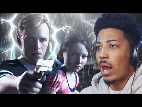 THIS IS WHY I DON'T TRUST ROBOTS!! | Detroit Become Human (Part 1) thumbnail