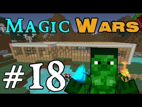 Minecraft Magic Wars - Home Extension! #18