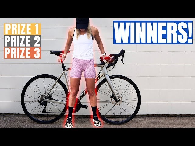 My Wife Announces 3 Major Cycling Prize Winners (incl: Merida Scultura 4000)