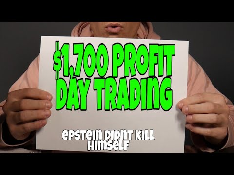 How To Make $1,700 Day Trading Stocks