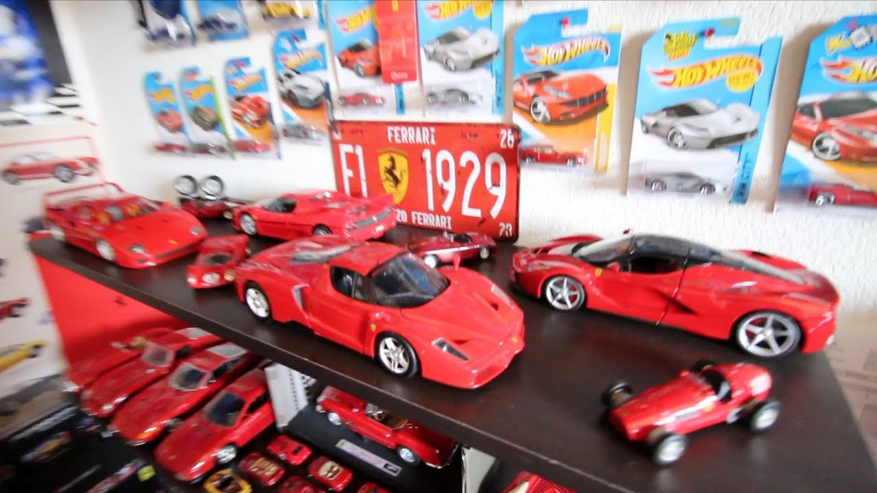 Huge 1 18 Scale Ferrari Collection Model Car Collection Youtube