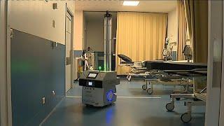 Portugal : un robot autonome pour désinfecter les hôpitaux