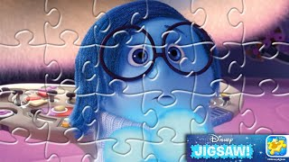Disney Jigsaw: Sadness from Inside Out Puzzle Set Mobile Game