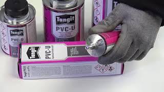 Lepidla a čističe na PVC Tangit pro bazény