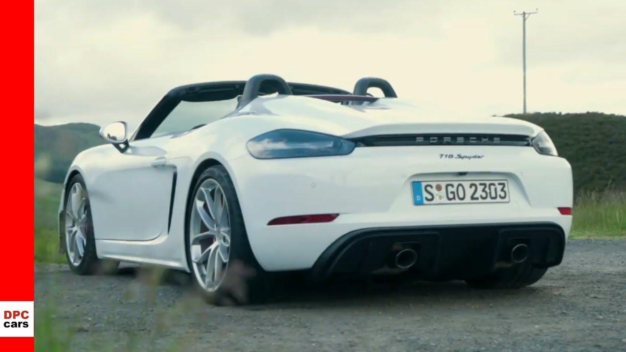 2020 Porsche 718 Spyder , Carrera White