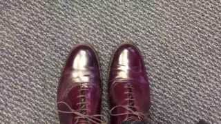 Alden Saddle Shoe 994 - #8 Burgundy Shell Cordovan review
