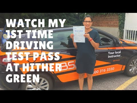 Hither Green Driving Test Route 25 July 2017  Pha