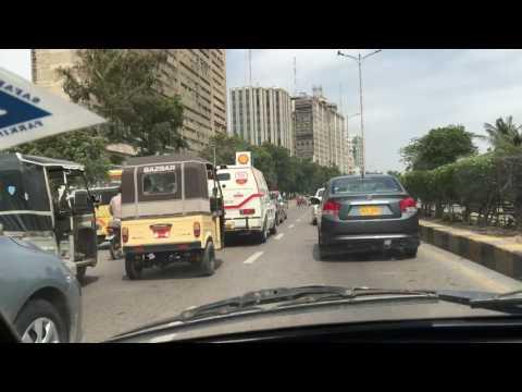 Streets in Karachi