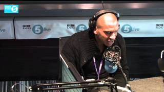 Stan Collymore & listener argue about abuse on Twitter
