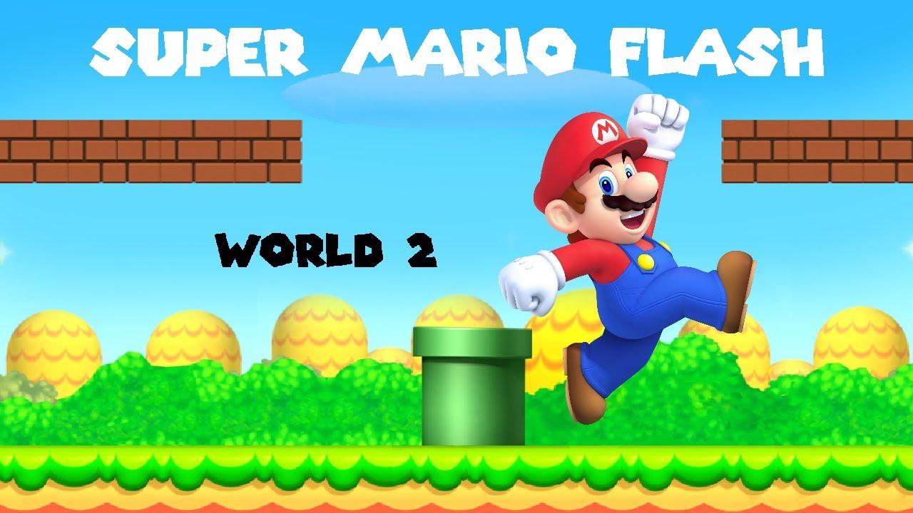 Super Mario Flash 2 Custom Level: Panic Station - YouTube