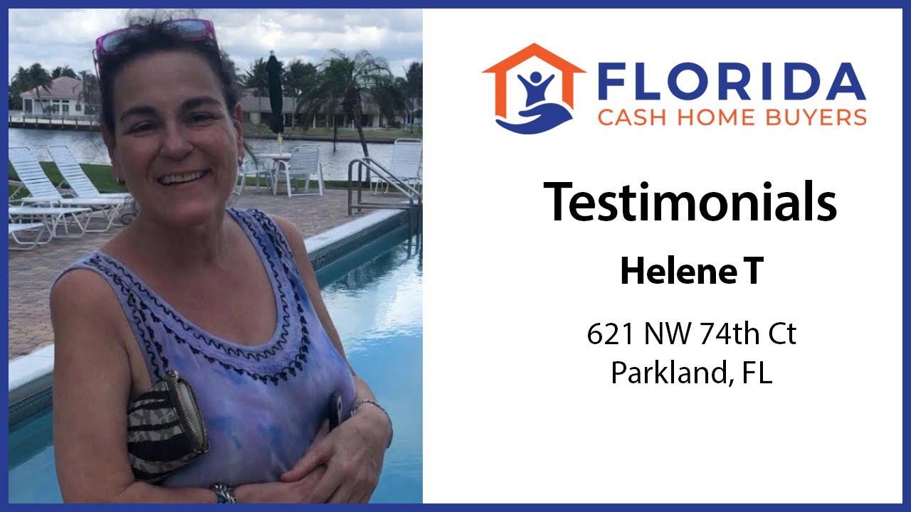 Helen's Testimonial - FL Cash Home Buyers